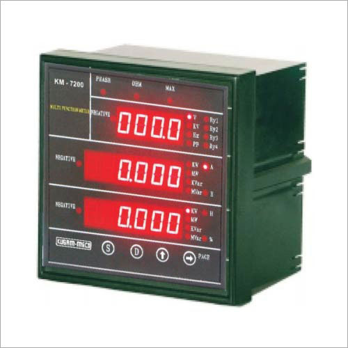 Microprocessor Multifunction TRMS Power Meter