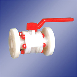 PVDF Ball Valve Flange End