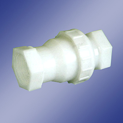 PP Non Return Valve Thread End