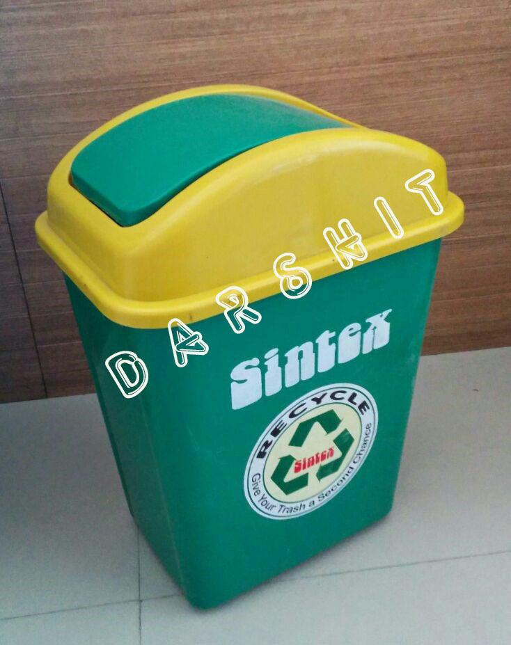 Sintex Euroline Waste Bin With Flap Lid