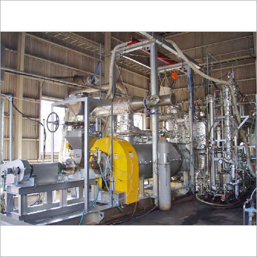 Pyrolysis Gasification Plant