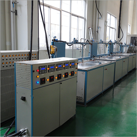 One Semi Automatic Cleaning Line
