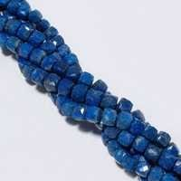 lapis faceted box7mm-8mm beads