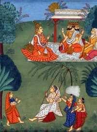 Raga hindola and ragini telangi