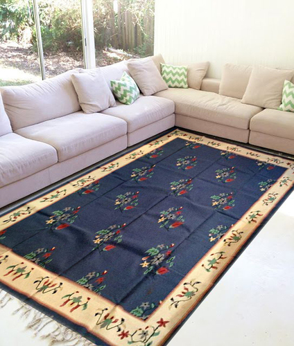 Cotton Woven Flat Weave Rug