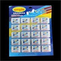 White Rubber Eraser