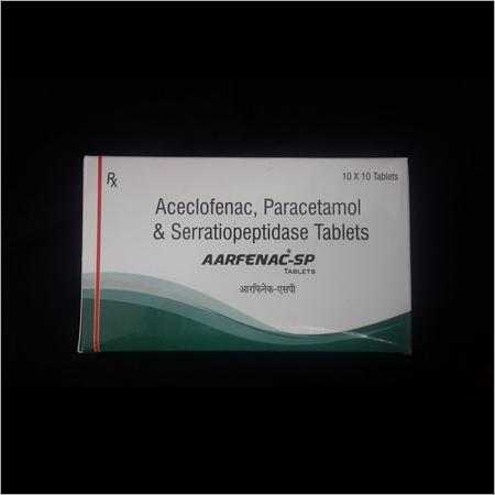 Aceclofenac Paracetamol Serratiopeptidase