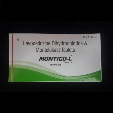Levocetirizine Dihydrochloride Montelukast