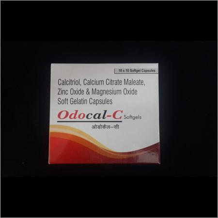 Calcitriol Calcium Citrate Maleate Zinc Oxide