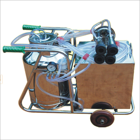 Single Cluster Electrical Milking Machine