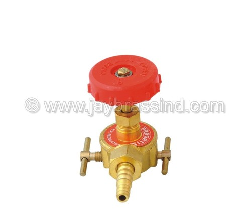 High Pressure Brass Regulator with Nozzle