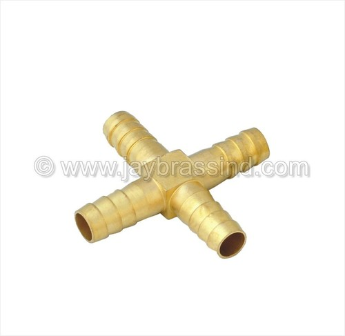 Brass Low Pressure Four Way Joint
