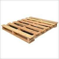 Double Wooden Pallets