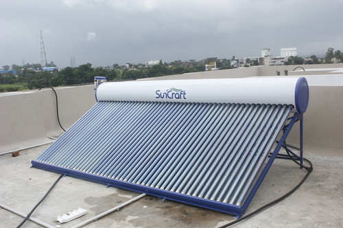 Installation of Solar water heater