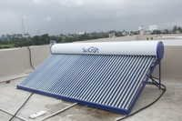 Installation of Solar water heater