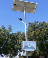 Installation of Solar street light