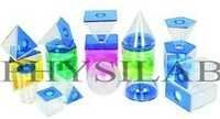 3D Solids Set 5cm, Transparent