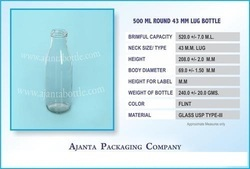 500 Ml Juice Bottle