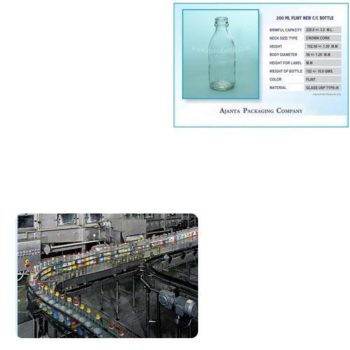 200 Ml Juice Bottle for Food Industry
