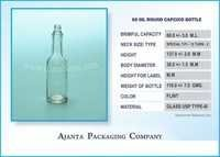 60 Ml Round Capsico Bottle