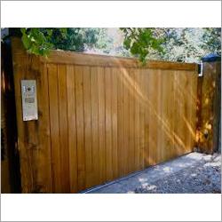 Wooden Swing Gate