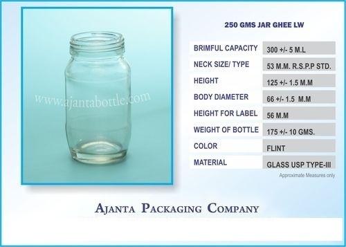 250 Gms Jar Ghee