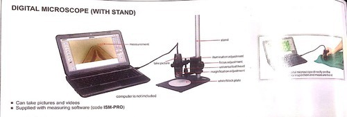 Digital Microscope with Stand
