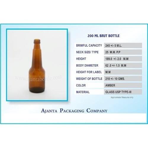 200 Ml Brut Bottle