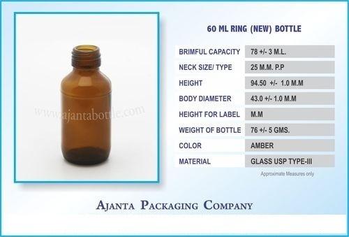 60 Ml Ring (New) Bottle