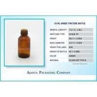 70 Ml Amber Tincture Bottle