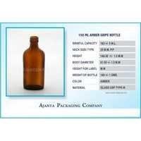 150 Ml Amber Gripe Bottle