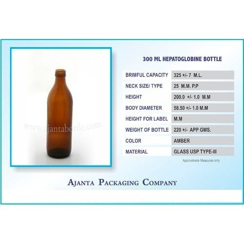 300 Ml Hepatoglobine Bottle