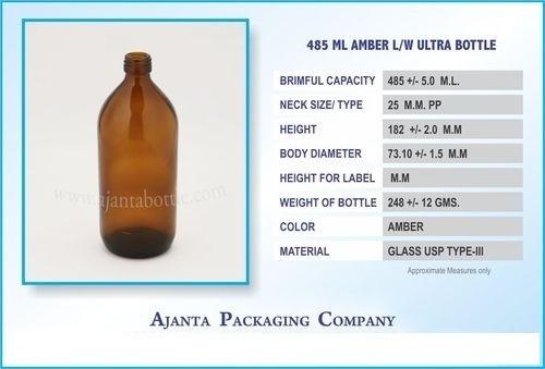 Amber Bottle