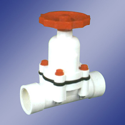 PP Diaphragm Valve Thread End