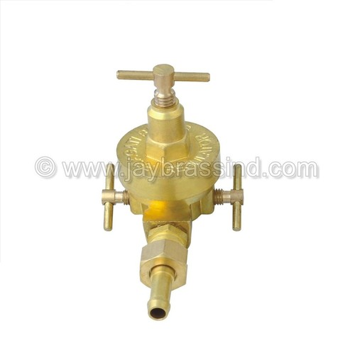 LPG Three Key Regulator with Nozzle