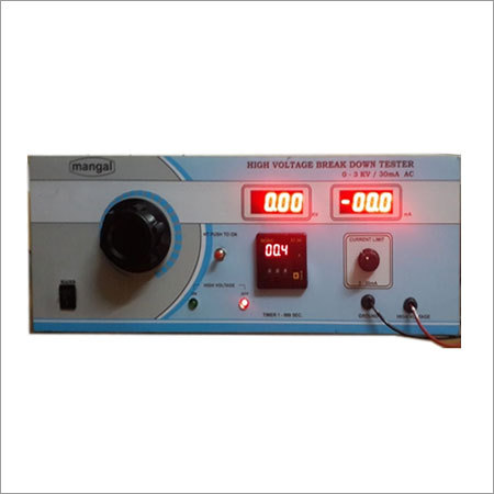 High Voltage Tester With Timer