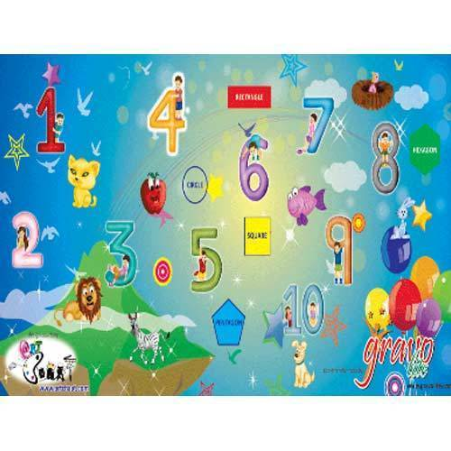 Gravolite Kids Education Mats (Color Game)