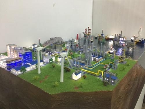 Oil & gas field model