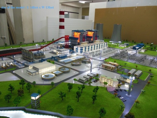 Scale down model of Power plant