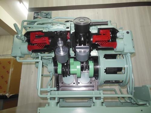 Compressor cross  section models