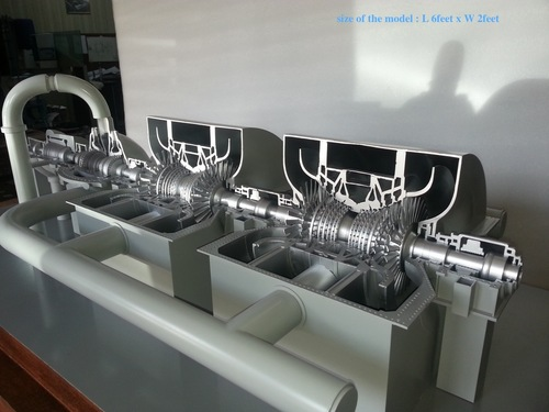 Steam turbine 600MW models