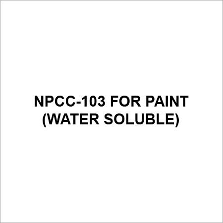 NPCC 103 For Paint