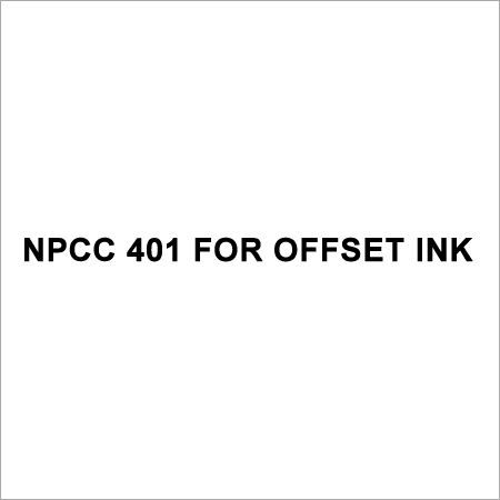 NPCC 401 For Offset Ink