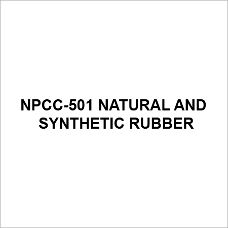 Npcc 501 Natural And Synthetic Rubber