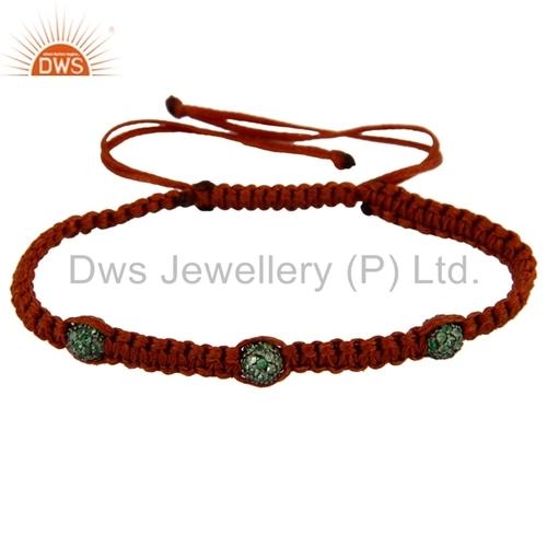 925 Silver Tsavorite Green Gemstone Bracelets