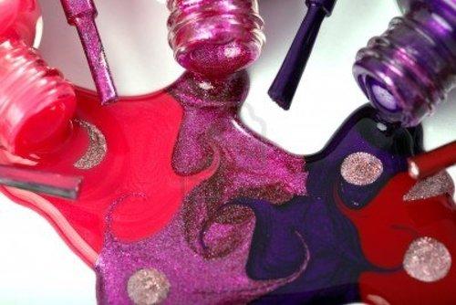 Colorful Nail Paints