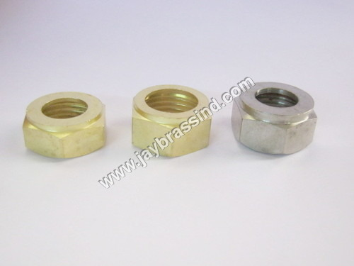 CP Brass Hex Nut
