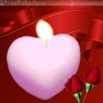 Heart Shape Diyas