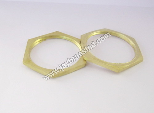 Brass Hex Lock Nut