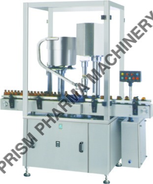 Single Head Screw Cap Sealing Machine